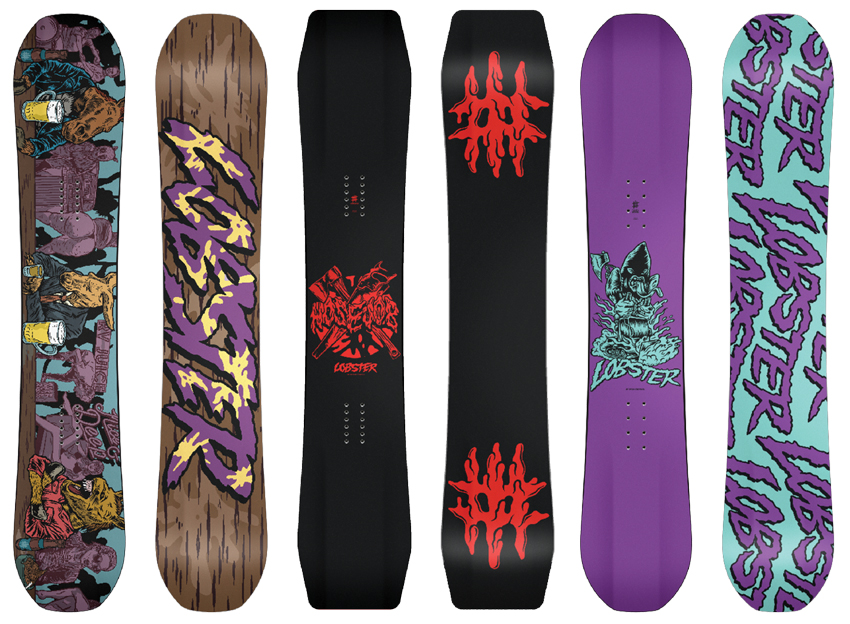 Lobster Snowboards | Lobster House